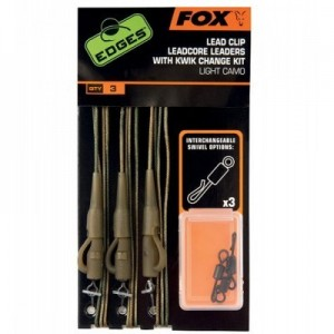 FOX LEADCORE LED CLIP RIGS