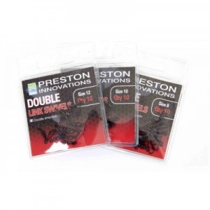 PRESTON DOUBLE LINK SWIVELS
