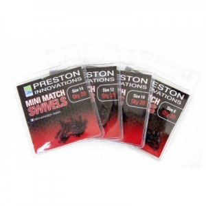 PRESTON MINI MATCH SWIVELS