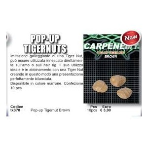 CARP ZONE Pop Up Tigernut