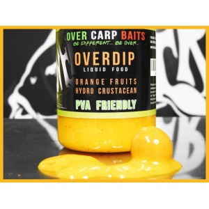 OVER CARP BAITS LIQUID FOOD ORANGE