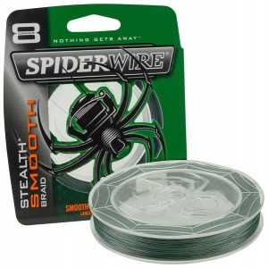 SPIDERWIRE SMOOTH GREEN 1800M