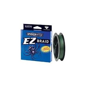 SPIDERWIRE EZ BRAID GREEN 100M