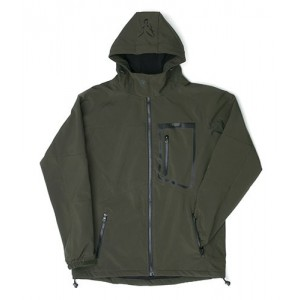 FOX GREEN BLACK SOFTSHELL JACKET