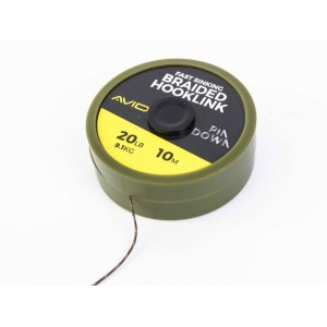 AVID CARP PINDOWN BRAIDED HOOKLINK