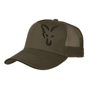 FOX TRUCKER CAP GREEN E BLACK