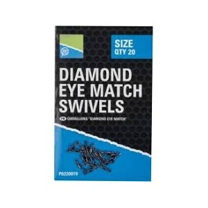 PRESTON DIAMOND EYE MATCH SWIVELS