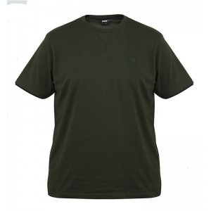 FOX T SHIRT GREEN BLACK BRUSHED