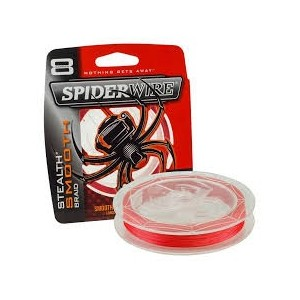SPIDERWIRE SMOOTH RED 300M