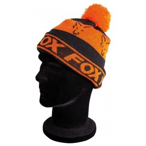 FOX BLACK ORANGE LINED BOBBLE