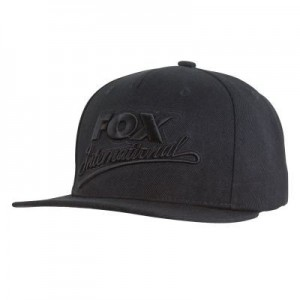 FOX BLACK CAMO SNAP BACK SPECIAL CAP
