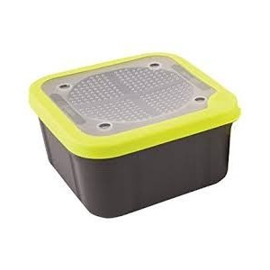 MATRIX BAIT BOX GREY LIME PERFORATED LIDS