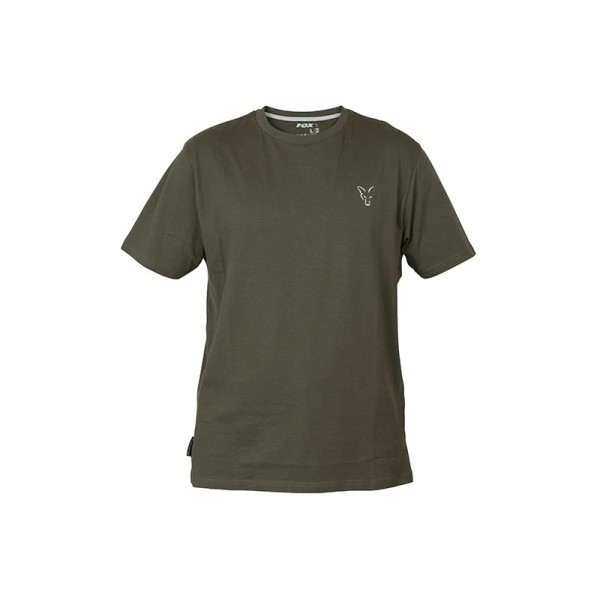 FOX COLLECTION GREEN SILVER T SHIRT
